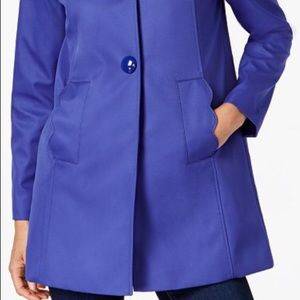 Kate Spade New York Blue A-line Raincoat
